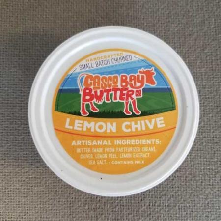 Casco Bay Butter Lemon Chive Butter