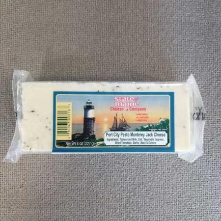 Port City Pesto Monterey Jack Cheese